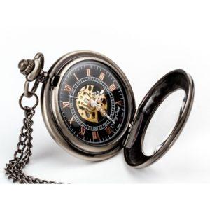 ELEGANCJA CZERNI II – zegarek kieszonkowy